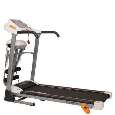 康乐佳K240C-1 电动跑步机家用静音多功能抖抖机折叠运动健身器材