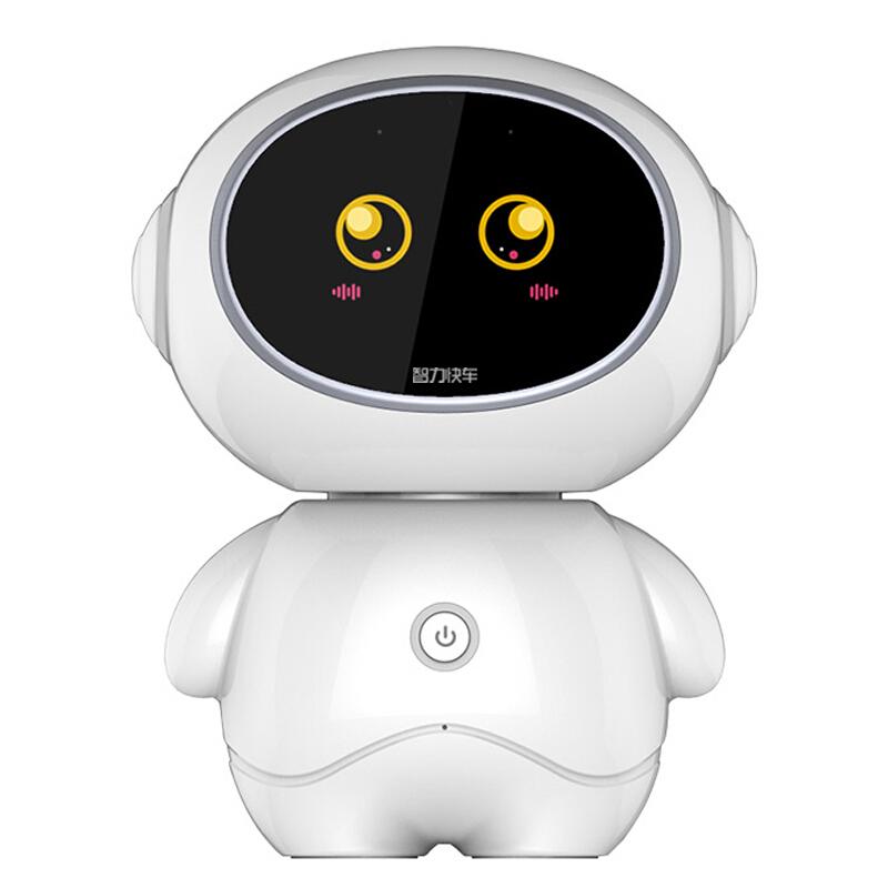 智力快车 小帅才子智能机器人儿童智能玩具教育益智早教机wifi对话聊天机器人故事机启蒙学习机陪伴机器人R3