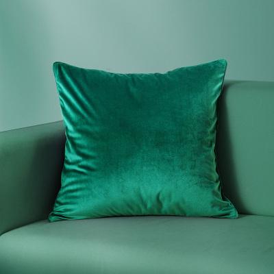 罗莱加厚纯色简约抱枕沙发靠垫办公靠枕靠背腰枕素色抱枕