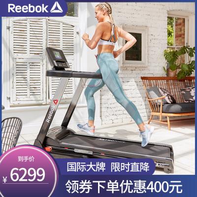 Reebok锐步新款跑步机 10.1�疾势林悄芗矣镁惨粽鄣�走步机健身器材A4.0TFT