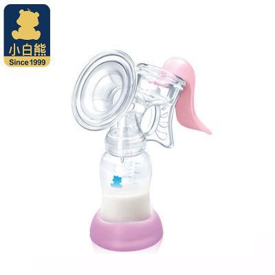 小白熊(XIAOBAIXIONG)手动吸乳器 妈妈吸奶器 (PP材质) HL-0815