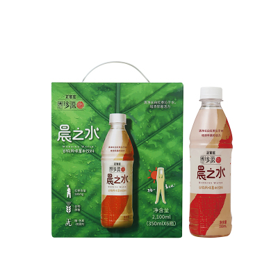 正官庄恩珍源(Korean Red Ginseng)晨之水含人参谷物味饮料*350ml*6/箱 高丽参含量500mg/瓶