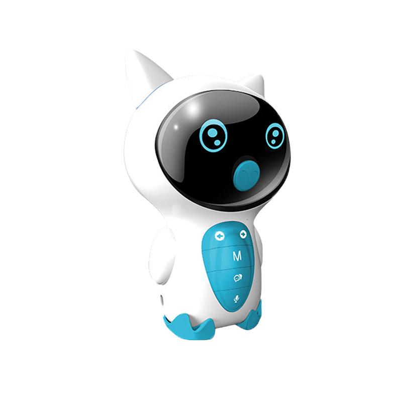GIAUSA小Z儿童智能机器人玩具WIFI语音对话语音男女小孩人工陪伴学习早教机PVC蓝色