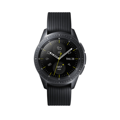 三星(SAMSUNG) Galaxy Watch智能手表 2018款三星4代手环 港版 gear S4运动防水手表计步器 42MM 暗夜黑 蓝牙版