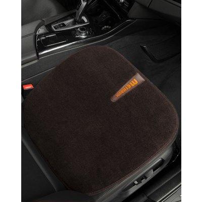 恒源祥纯羊毛汽车座垫保暖免捆绑单个座垫丰田霸道奥迪宝马5系五座通用汽车座垫单个司机座垫