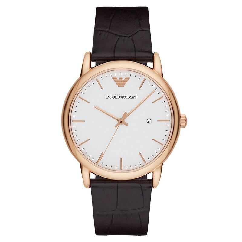 阿玛尼(EMPORIO ARMANI)手表欧美品牌商务时尚男士石英表 AR2502669元包邮