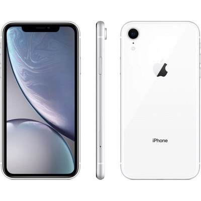 【官方正品】Apple/苹果XR iPhone XR 电信4G智能手机美版有锁未激活 128GB 白色【裸机】