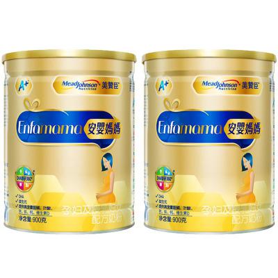 美赞臣安婴妈妈A+孕妇奶粉900克 进口奶源 备孕 孕妇及哺乳期妈妈适用*2罐