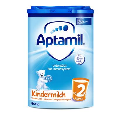 【保税发货 免邮免税】原装进口 Aptamil 德国爱他美婴幼儿奶粉2+段800g(2岁以上)效期2021年11月