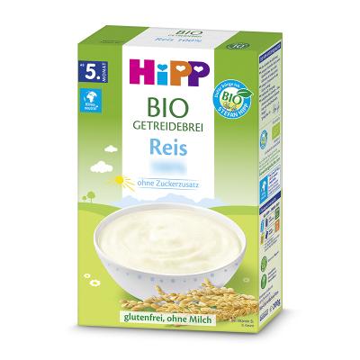 德国HIPP喜宝大米米粉4个月+200g/盒
