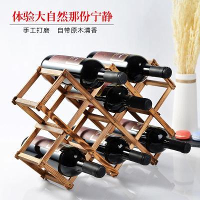 陈列架红酒梯型中国风红酒架酒水摆放小型吧台个性款式家用欧式
