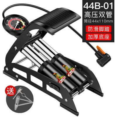 凤凰 脚踩打气筒高压便携式篮球自行车电动车摩托车汽车脚踏充气泵