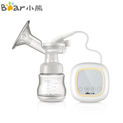 小熊(Bear) 电动吸奶器 可充电式 8档可调节吸乳器 智能触控带按摩单边吸奶器XNQ-A02L5