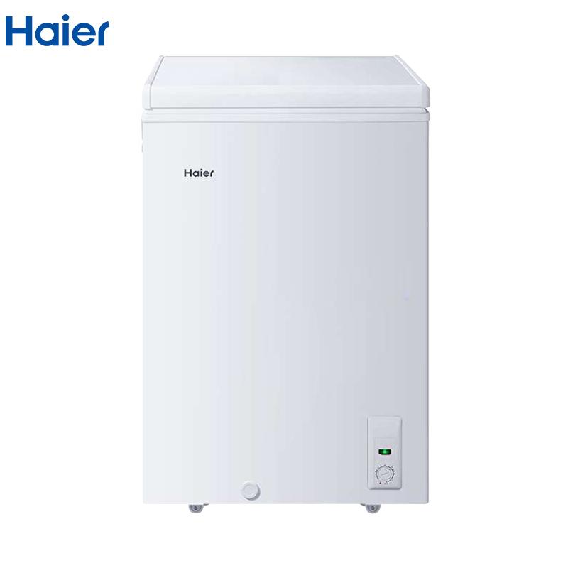 海尔(Haier)BC/BD-103HA 103升家用冰柜 冷藏冷冻转换 小型迷你冷柜 节能单温冰箱